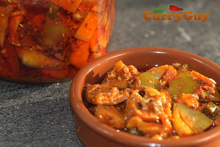 Spicy Mixed Vegetable Pickle