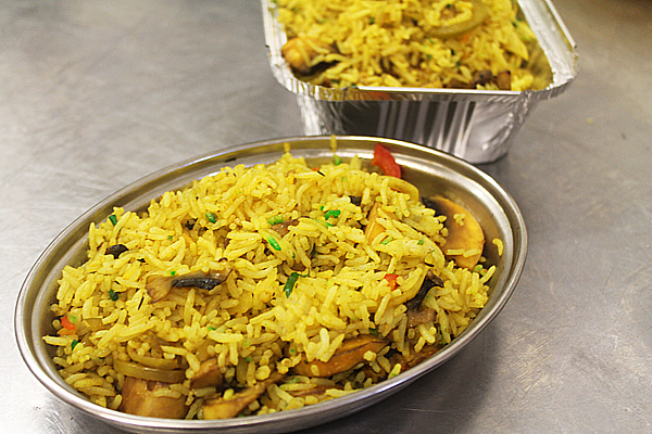 BIR Style Special Fried Mushroom Rice