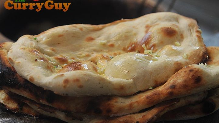 Garlic Naans Easy Garlic Naans The Curry Guy The Curry Guy