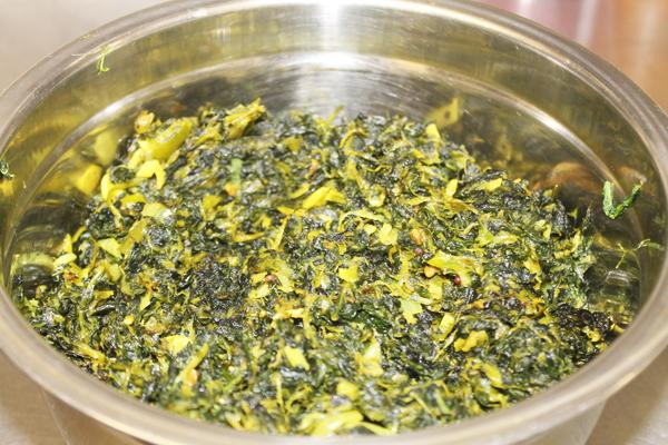 British Indian Restaurant Preparations - Spinach