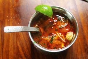 Thai Tom Yum Gai Soup