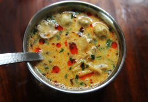 Thai tom ka gai soup