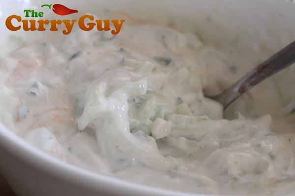 How To Make Tzatziki Sauce | Greek Garlic Yogurt Sauce