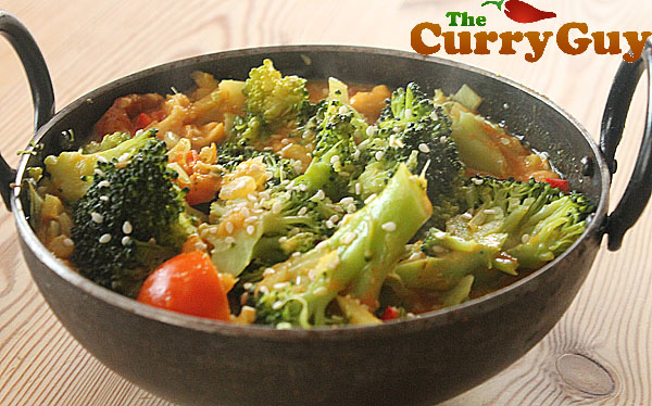 Broccoli Curry - My Favourite Vegetarian Meal