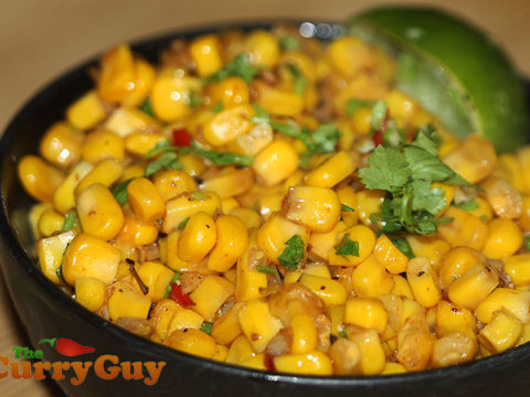 Spicy Indian Corn Indian Corn The Curry Guy