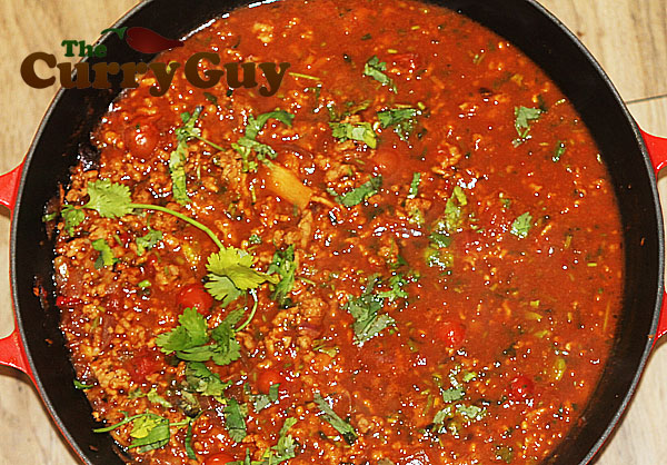 Spicy Thai Minced Pork Curry