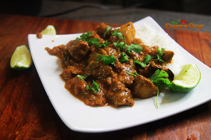 Railway lamb curry