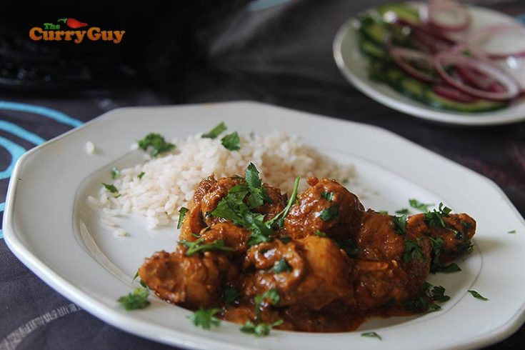 Easy Cumin Chicken Curry