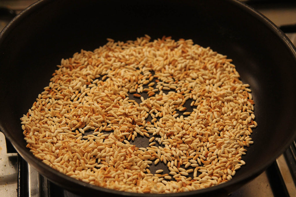 khau khau roasted rice powder