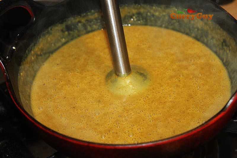 blending katsu sauce