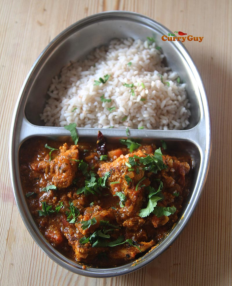 Easy Chicken Madras Curry