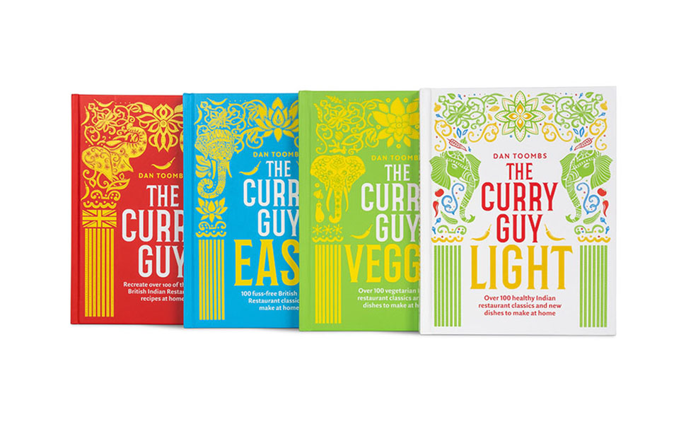Curry guy cookbook series