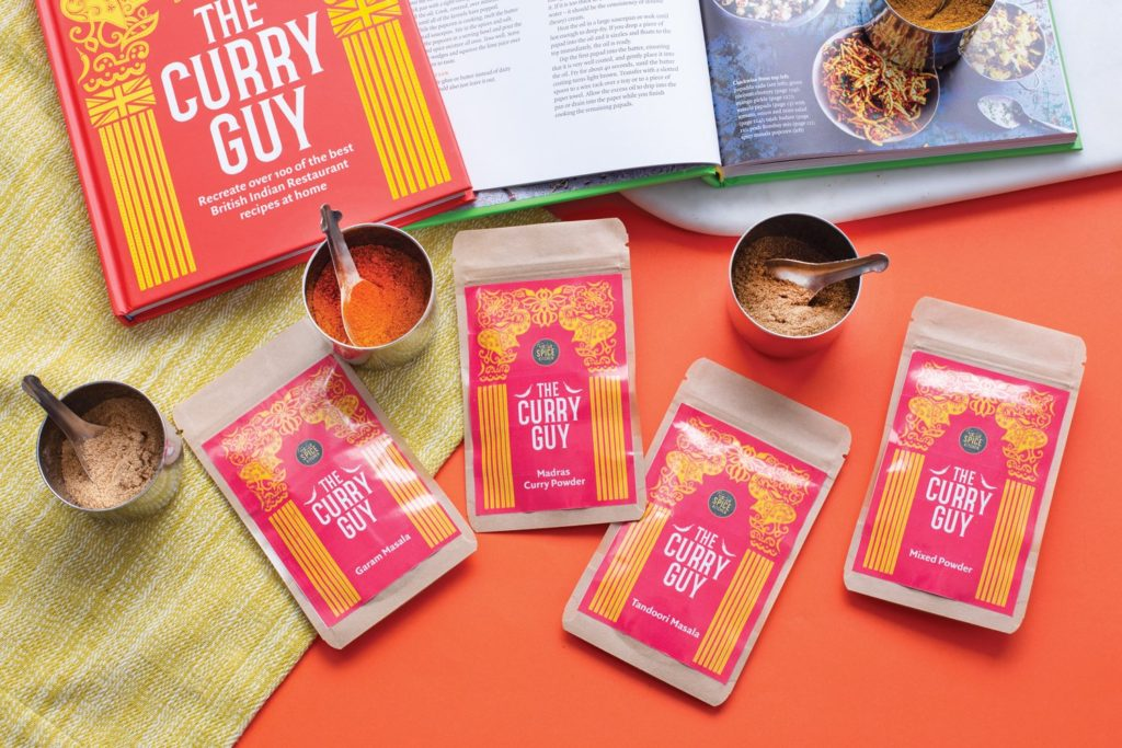 curry guy spice blends