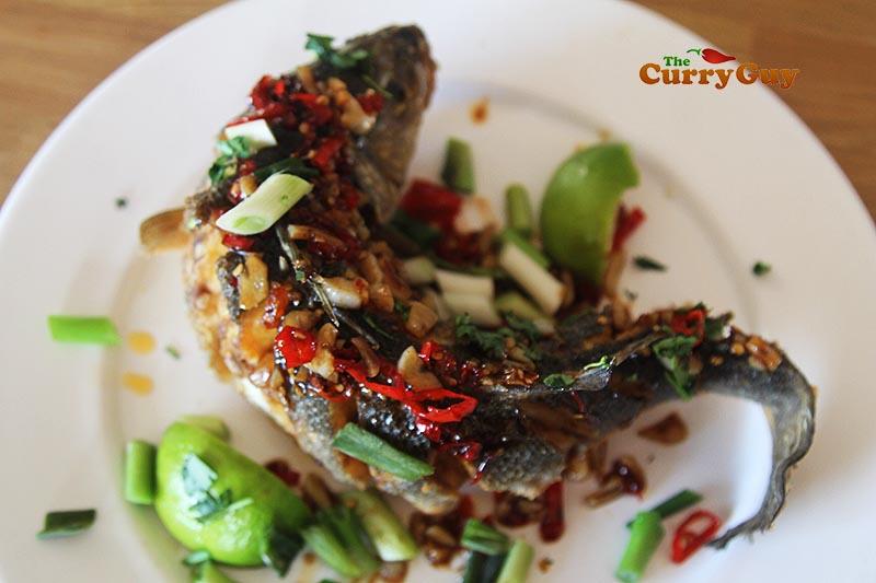 Thai fish fry