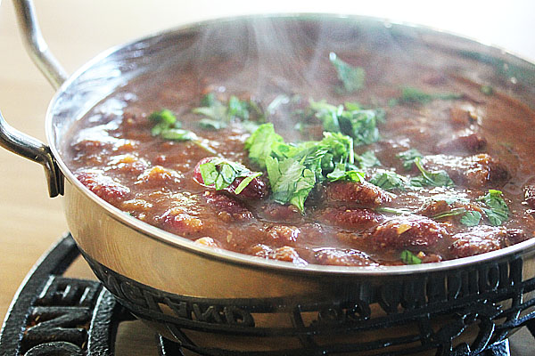 A Low Calorie Kidney Bean Curry
