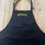 black curry guy apron
