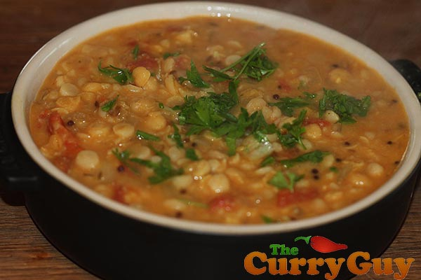 Chana Dhal - Yellow Split Lentils - A Popular Curry House Side Dish