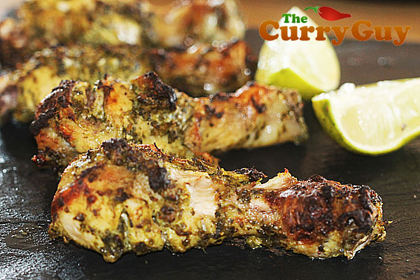 Coriander & Garlic Tandoori Chicken Legs