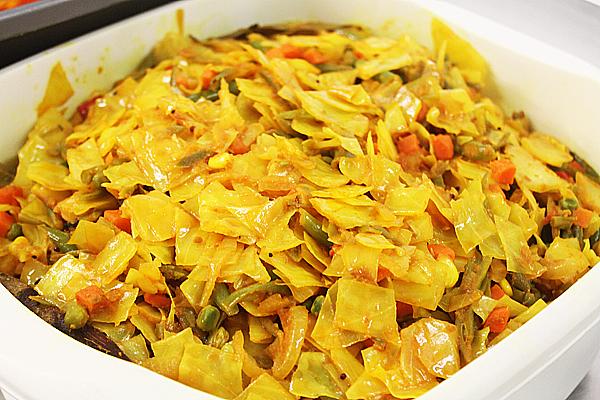 British Indian Restaurant (BIR) Style Mixed Fried Vegetables