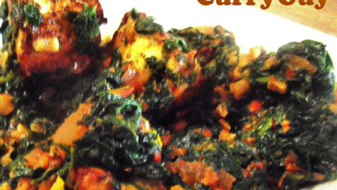 Saag Paneer Recipe Indian Spinach And Paneer Recipe Indian Food