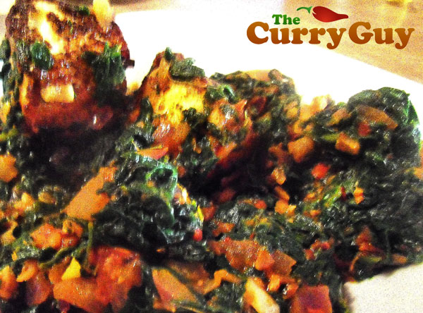 How to Make Saag Paneer - A Popular Indian Vegetarian Cheese and Spinach Recipe