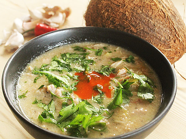 Indian Food Recipes - Delicious Turkey, Lime And Coconut Soup