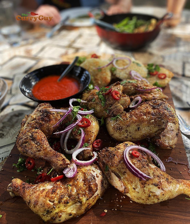 Spice grilled chicken