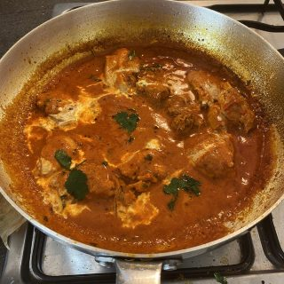 Tikka masala sauce with chicken
