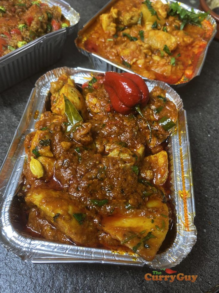 Vindaloo Curry Sauce with chicken