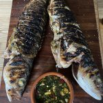 Thai grilled fish