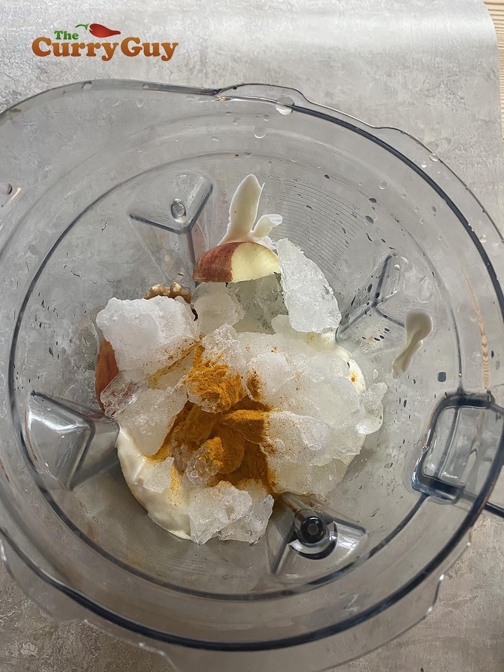 Adding the ice