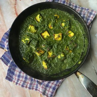 Saag Paneer curry