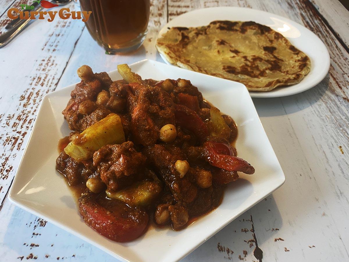 Restaurant style chicken chaat