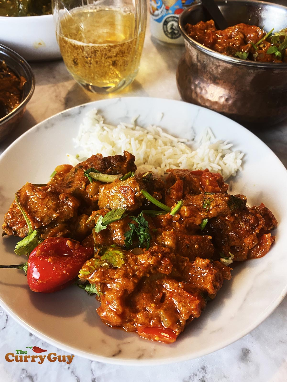 lamb phaal curry