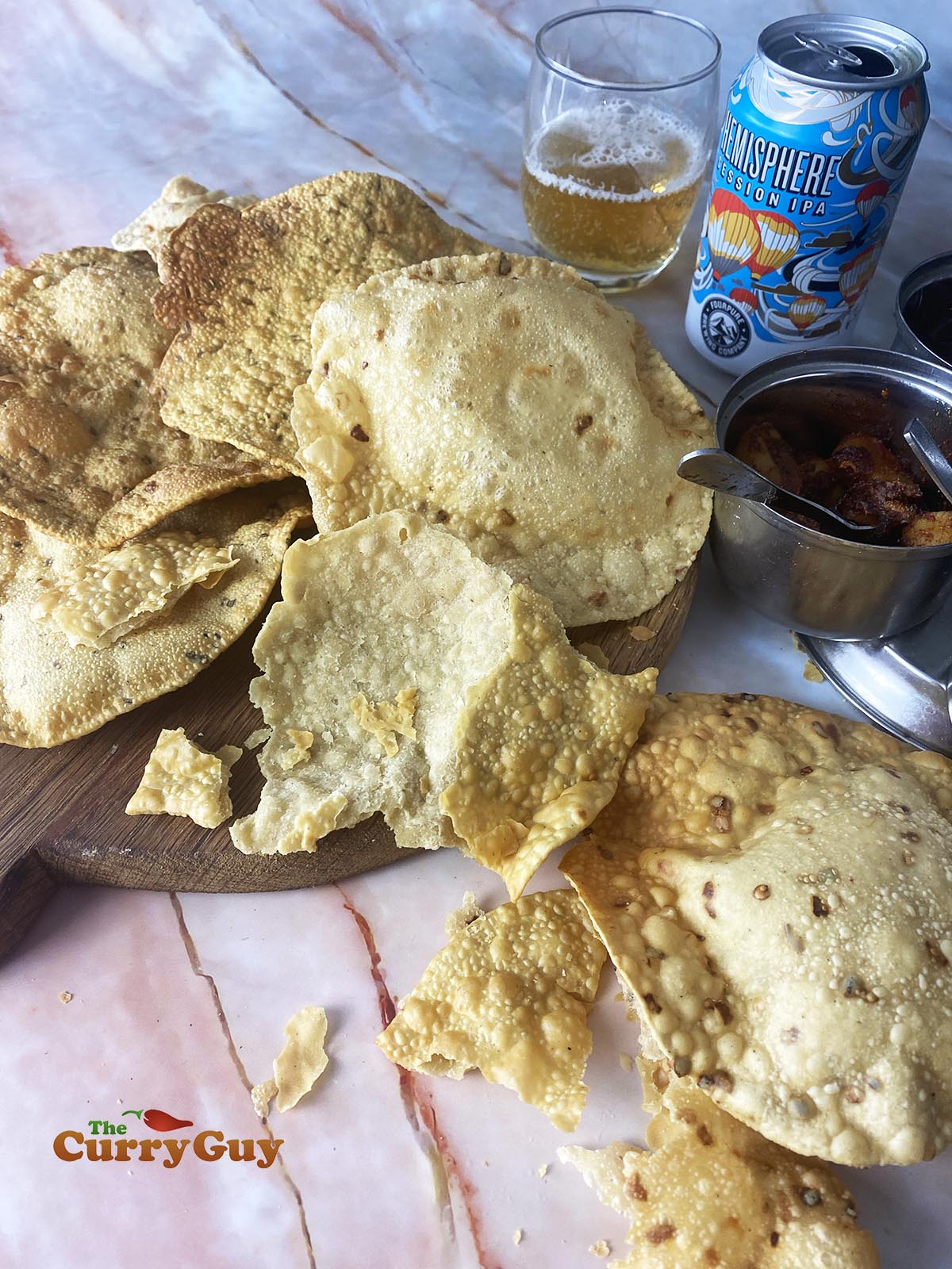 homemade poppadom recipe photo