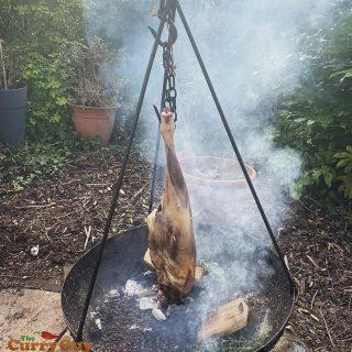 smoked leg of lamb