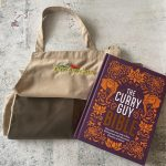 Curry Guy Bible with Light brown apron and dark brown pocket