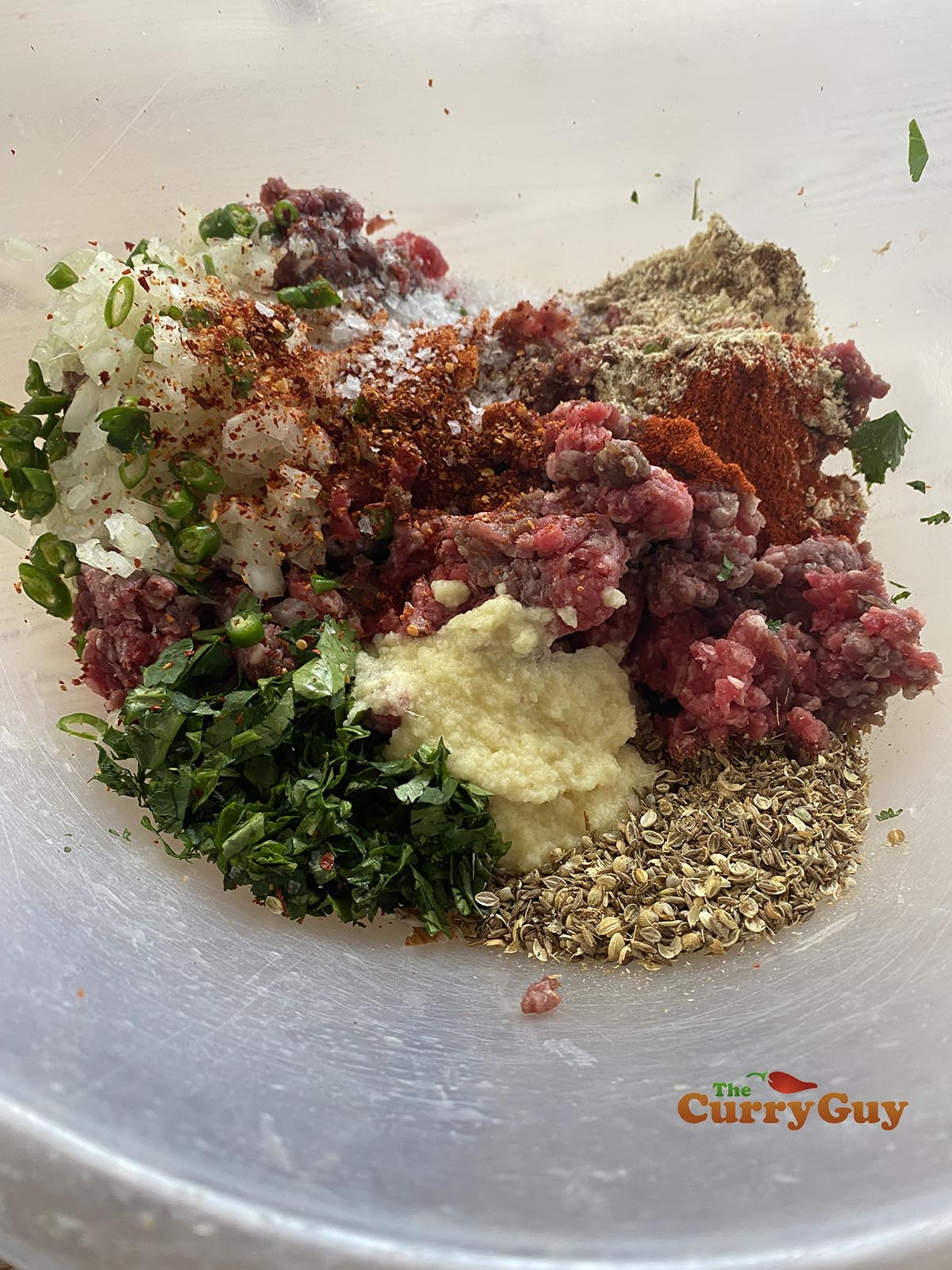 ingredients for chapli kebab